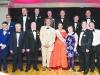 2015 Monaghan Rose of Tralee, Michelle Caulfield with the Monaghan Arch Club members who were the escorts for the 2016 Monaghan Rose of Tralee selection night. Included are front (L-R) Freddie Curtis, Finbarr Callan, Mark McElroy, Eamon Brummitt, Michelle Caulfield, Claire McElroy, Ciaran Murphy and Stephen Kernaghan. Behind (L-R) Terry Treanor, Padraig Kelly, Sean McBennett, Ian Hall, Aidan Corrigan, Mark McCabe and William Hollinger©Rory Geary/The Northern Standard
