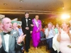 Sean McBennett escorting Grainne O'Connor, into the Monaghan Rose Selection night. ©Rory Geary/The Northern Standard