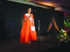 2015 Monaghan Rose of Tralee, Michelle Caulfield, speaking at the Monaghan Rose of Tralee selection night. ©Rory Geary/The Northern Standard