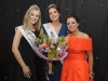Pamela Allen, centre, 2016 Monaghan Rose, at the Monaghan Rose Selection night in The Four Seasons Hotel, Monaghan, with 2015 Rose of Tralee Elysha Brennan, left and Michelle Caulfield, 2015 Monaghan Rose. ©Rory Geary/The Northern Standard