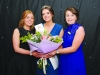 Pamela Allen, centre, 2016 Monaghan Rose, at the Monaghan Rose Selection night with Monaghan Rose coordinators, Sonia Casey, left and Coleen Murray. ©Rory Geary/The Northern Standard