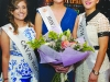 2016 Monaghan Rose Pamela Allen with Cavan Rose Lisa Reilly, left and Louth Rose Megan Ferguson, at the Monaghan Rose Selection night. ©Rory Geary/The Northern Standard