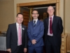 At the Amatino AIB Brexit Breakfast Briefing in The Hillgrove Hotel were Paddy Whyte, AIB, Ken Rooney, AIB and Michael Murray, AIB, Monaghan. ©Rory Geary/The Northern Standard