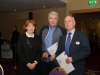 Pictured at the Amatino AIB Brexit Breakfast Briefing in The Hillgrove Hotel were (L-R) Maria Maguire, Maguire International Transport, Peter Deery and Ian McBride, AIB. ©Rory Geary/The Northern Standard