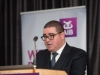 Barry Kieran from Amatino, speaking at the Amatino AIB Brexit Breakfast Briefing in The Hillgrove Hotel. ©Rory Geary/The Northern Standard