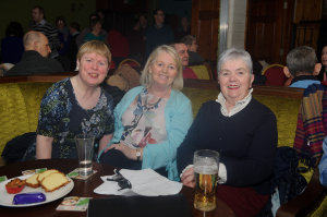 At the party were (L-R) Mary Sheridan, Barbara Baxter and Colette Brannigan. ©Rory Geary/The Northern Standard