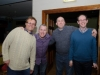 Pictured at the Monaghan Arch Club party at the Monaghan Harps GFC, were (L-R) Eamon Brummitt, Stephen Boylan, William Hollinger and Brendan Haughey. ©Rory Geary/The Northern Standard