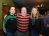 At the Monaghan Arch Club party were (L-R) Louise McGinnitty, Mark McElroy and Molly Boyce. ©Rory Geary/The Northern Standard