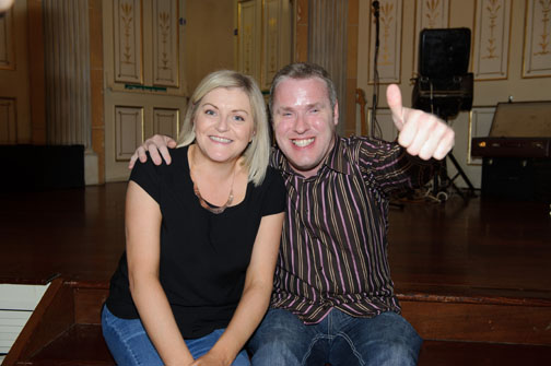 Grainne Keenan and Stephen Boylan at the Monaghan Arch Club Summer Party. ©Rory Geary/The Northern Standard