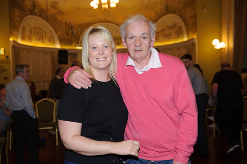 Michelle Cassidy and Richard Hanratty at the Monaghan Arch Club Summer Party in The Westenra Hotel. ©Rory Geary/The Northern Standard