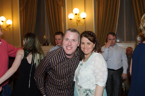 Stephen Boylan and Hazel Davis at the Monaghan Arch Club Summer Party. ©Rory Geary/The Northern Standard
