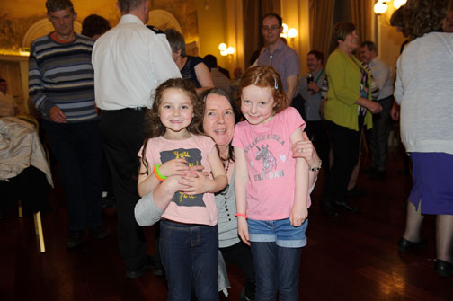 Emily, Moira and Amy Owens at the Monaghan Arch Club Summer Party in The Westenra Hotel. ©Rory Geary/The Northern Standard
