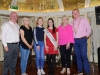 At the Monaghan Arch Club Summer Party were (L-R) John Smith, Monaghan Lions Club, Grainne Keenan, Monaghan Arch Club, Emma McElvaney, Monaghan Rose of Tralee Maria Murnaghan, Barbara Baxter, Monaghan Arch Club and Hugh McElvaney, President of Monaghan Lions Club. ©Rory Geary/The Northern Standard