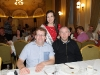 Monaghan Rose of Tralee Maria Murnaghan with Christopher Duffy and Aodhan Treanor. ©Rory Geary/The Northern Standard