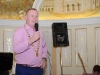 President of the Monaghan Lions Club, Hugh McElvaney, speaking at the Monaghan Arch Club Summer Party which was held in The Westenra Hotel. ©Rory Geary/The Northern Standard