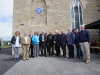 Some of the members of the Clogher Historical Society at the event at St Macartan's Church, Augher, to unveil a plaque in honour of Archbishop John Joseph Hughes. ©Rory Geary/The Northern Standard