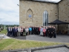 The crowd that attended the function at St Macartan's Church, Augher, to unveil a plaque in honour of Archbishop John Joseph Hughes. ©Rory Geary/The Northern Standard