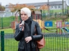 Bernie Bradley, Social Inclusion Officer, Monaghan County Council, speaking at the opening of the Ballybay Town Park, last Monday. ©Rory Geary/The Northern Standard