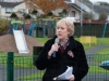Minister for Culture, Heritage and Gaeltacht Heather Humphreys TD, speaking at the opening of the Ballybay Town Park, when it was officially opened on Monday morning last. ©Rory Geary/The Northern Standard