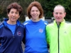 From left; Claire Reilly, Anna Maria Goodman and David O'Connell, taking part in the Wetlands Running Club 5k run, held in Ballybay on Sunday last. Photo: Jimmy Walsh
