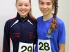 Frea Lee and Cliona Linden, taking part in the County League, Wetlands Running Club 5k run, held in Ballybay. Photo: Jimmy Walsh