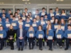 The Beech Hill College Students who received their Junior Cycle Profile of Achievements, at the school with Principal Patrick McArdle and Ms Barbara Gleeson, Year Head. ©Rory Geary/The Northern Standard