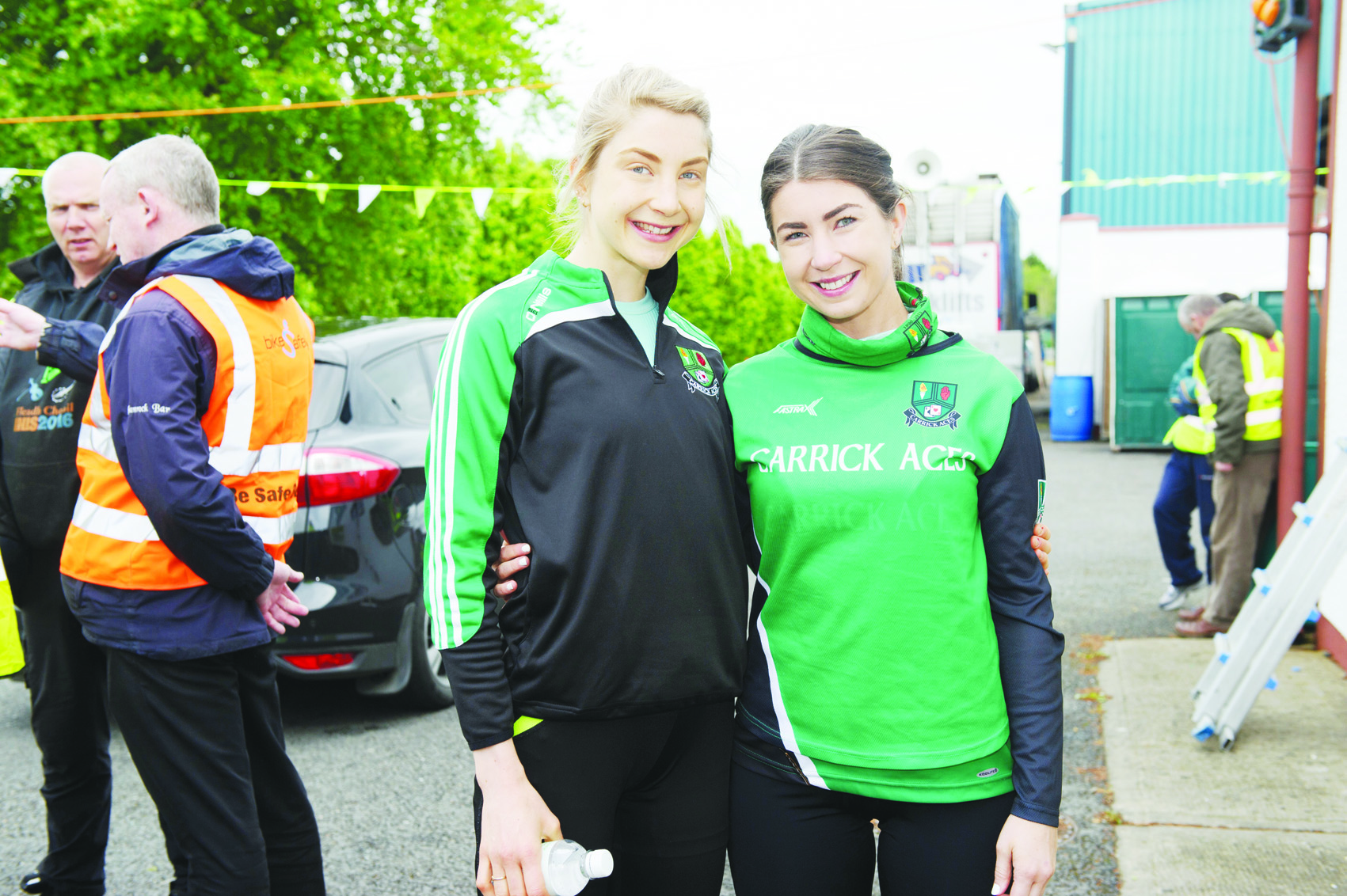 At the Blackwater 10k were (L-R) Anne Linden and Eilis Linden from Carrick Aces. ©Rory Geary/The Northern Standard