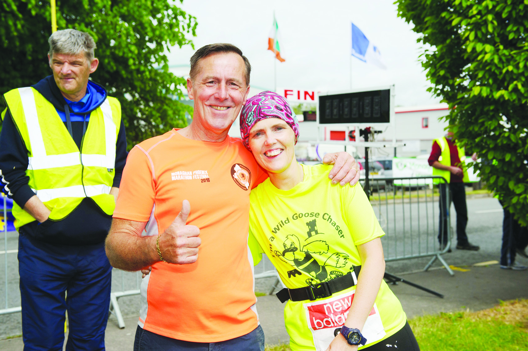 Lesley and Lorna Crawford at the Blackwater 10k. ©Rory Geary/The Northern Standard