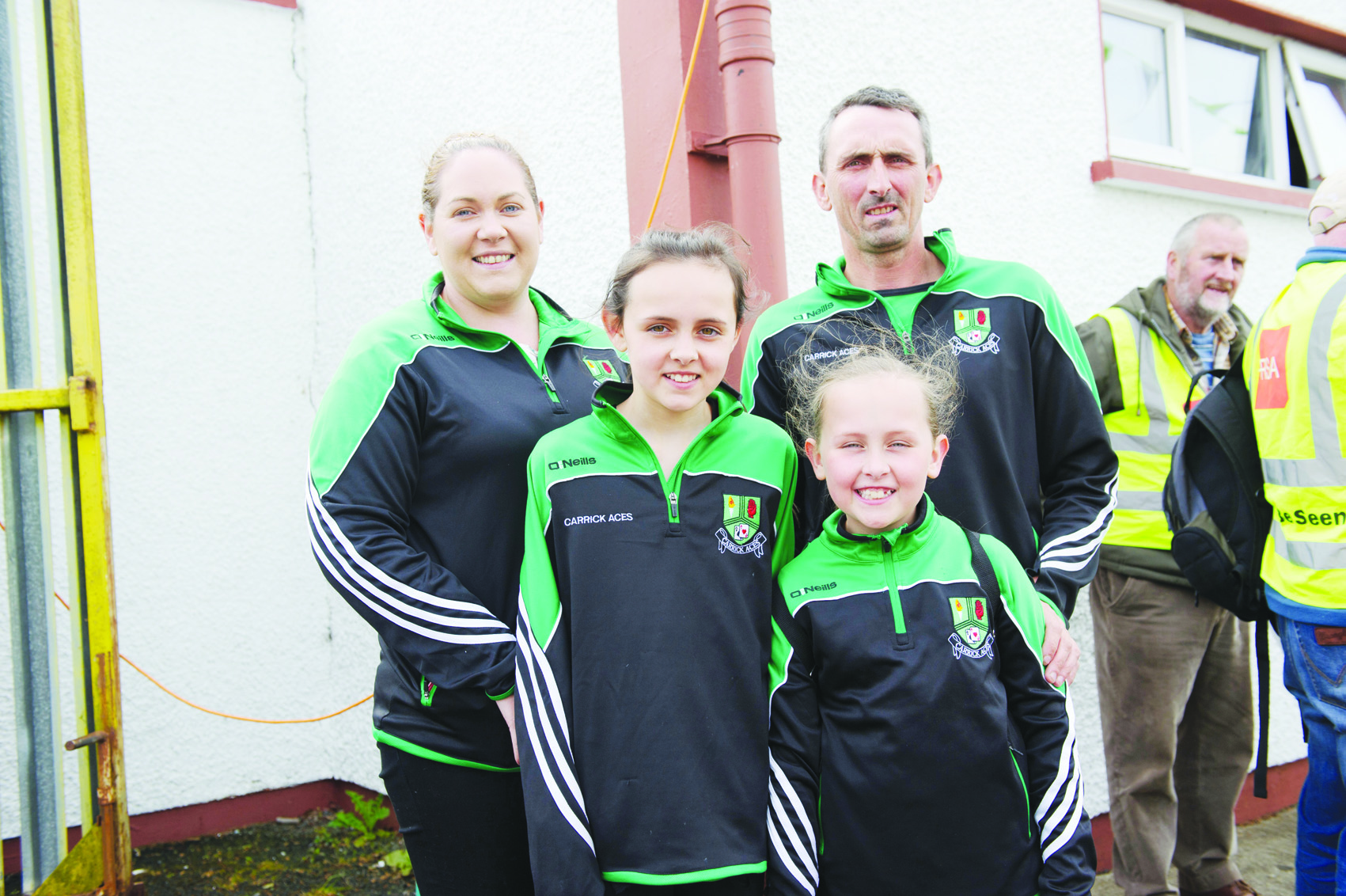 Members of the Murnaghan family at the Blackwater 10k were Maria, Annie, Ella and Declan. ©Rory Geary/The Northern Standard