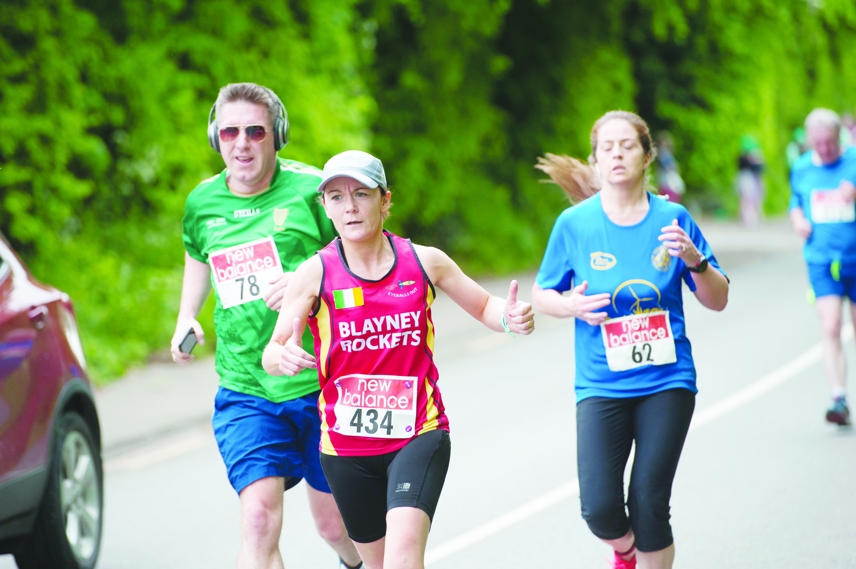 Karina Carroll from Blayney Rockets, during the Blackwater 10k. ©Rory Geary/The Northern Standard