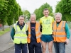 At the Blackwater 10k were (L-R) Noel Kennedy, Peter McKenna, Conor Duffy and Eamon Hackett. ©Rory Geary/The Northern Standard