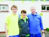 At the Blackwater 10k were (L-R) Sean O'Hare, Helen McCrystal and Dermot Maguire. ©Rory Geary/The Northern Standard