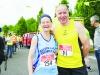 Jean Timmons and Dermot Holland from Balbriggan Roadrunners at the Blackwater 10k. ©Rory Geary/The Northern Standard
