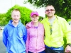 At the Blackwater 10k were (L-R) Peter Lally, Holly Lyons and Billy Flynn. ©Rory Geary/The Northern Standard