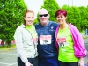 At the Blackwater 10k were (L-R) Alanna, Tommy and Deirdre O'Donaghue. ©Rory Geary/The Northern Standard