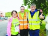 Ann Watterson, Paul McGeown and Hugh Coyle at the Blackwater 10k. ©Rory Geary/The Northern Standard