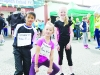 At the Blackwater 10k were (L-R) Julian and Jasmin Coyle and Niamh McElwain. ©Rory Geary/The Northern Standard
