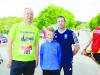 John Kelly, Mark Maguire and Niall Maguire at the Blackwater 10k. ©Rory Geary/The Northern Standard