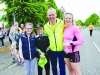 At the Blackwater 10k were (L-R) Ella, Ryan and Donal McArdle and Charlotte Connolly. ©Rory Geary/The Northern Standard