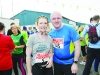 Rachel Annan and Ian McGuiness at the Blackwater 10k. ©Rory Geary/The Northern Standard