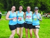 At the Blackwater 10k were (L-R) Korina, Lindsay, Leaona and Donna, from Omagh and Fintona. ©Rory Geary/The Northern Standard
