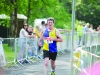 John McCaughey from Clones AC, finishing the Blackwater 10k. ©Rory Geary/The Northern Standard