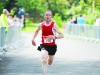 Kieran Cosgrove as he finished the Blackwater 10k. ©Rory Geary/The Northern Standard