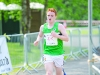 Oisin Fagan from Monaghan Phoenix AC finishing the 3k in 3rd place. ©Rory Geary/The Northern Standard