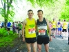 Conor Duffy and Dessie Duffy at the Blackwater 10k in Rossmore Park last Sunday. ©Rory Geary/The Northern Standard