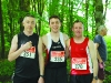 Pictured at the Blackwater 10k were (L-R) Tomas McGill, Brian McCarey and Kieran Cosgrove. ©Rory Geary/The Northern Standard