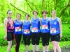 Some of the runners from the Wetlands Running Club at the Blackwater 10k. ©Rory Geary/The Northern Standard