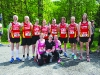 Some of the runners from Blayney Rockets at the Blackwater 10k. ©Rory Geary/The Northern Standard