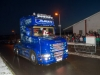 Santa arriving to Carrickroe with the help of a Scania supplied by A&M Commercials. ©Rory Geary/The Northern Standard