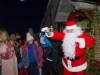 Santa as he arrived to Carrickroe last Sunday evening. ©Rory Geary/The Northern Standard
